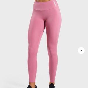 Gymshark training leggings in pink